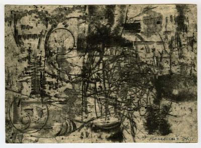 Vladimír Boudník: Aktivní grafika, 1956